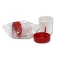 контейнер для сбора биоматериала  60мл индивидуальная упаковка